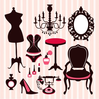 French Boudoir Design Elements