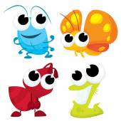 Photo Cute Little Bugs