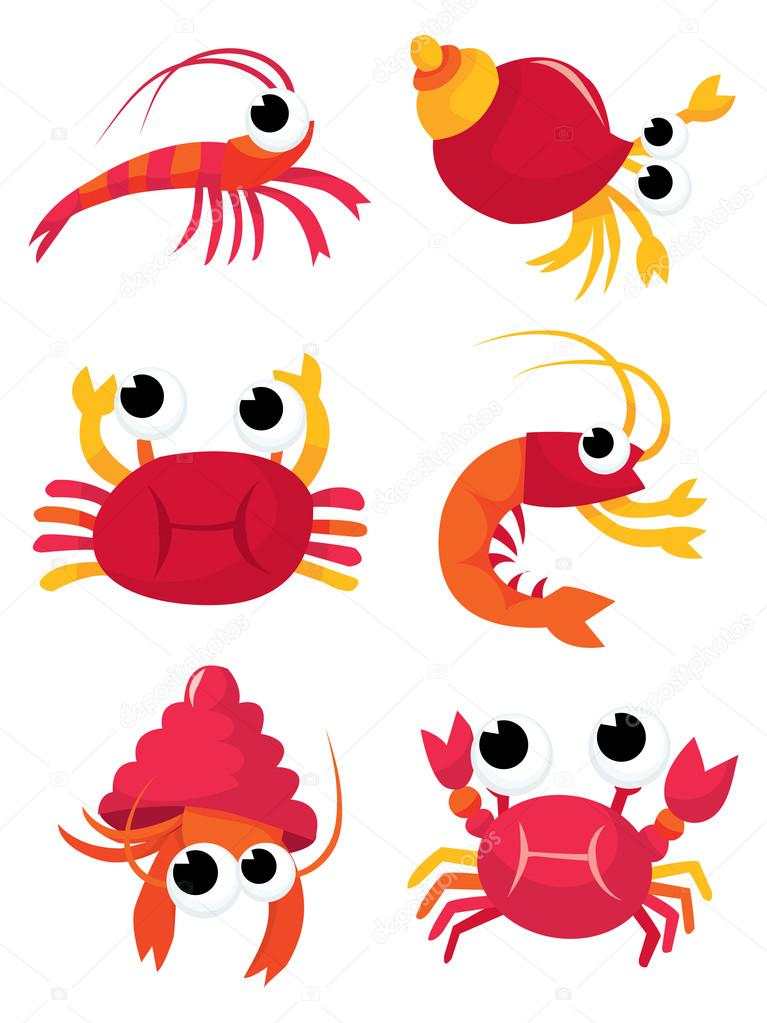 Cartoon Crustaceans