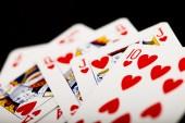 Fényképek kártyázás