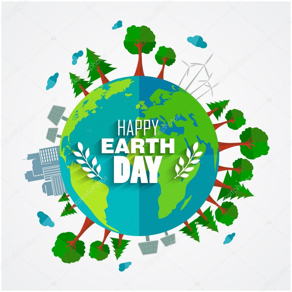 Earth day background for environment symbols on clean earth earth day background for environment symbols on clean earth stock vector buycottarizona