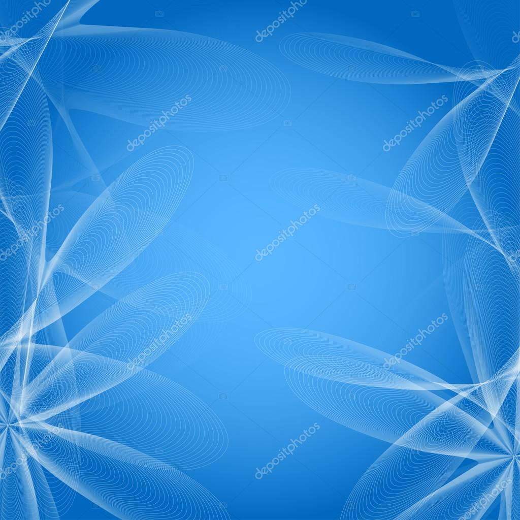Vector abstract blue background with flowers of lines stock vector vector abstract blue background with flowers of lines stock vector izmirmasajfo