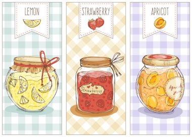 Cute set of jars