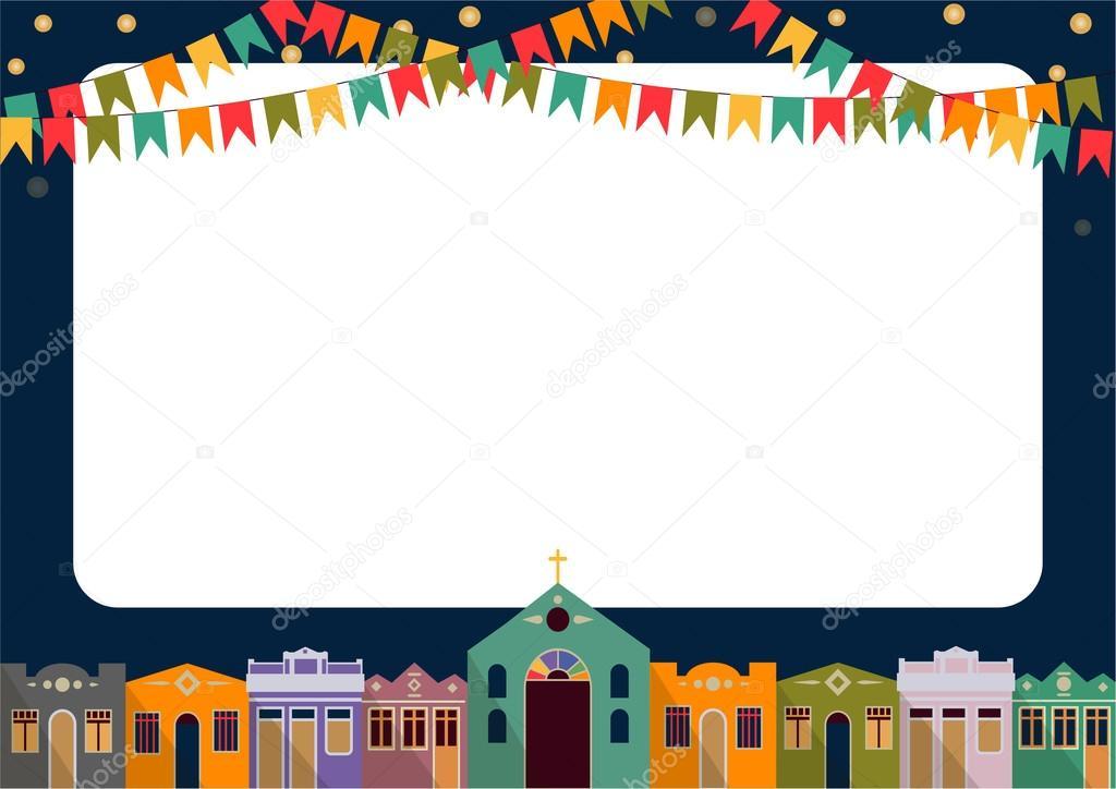 brasileiro a festa junina  u2014 vetores de stock  u00a9 irinapotter  73393711
