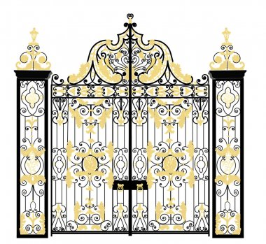 Kensington palace gate, London, United Kingdom
