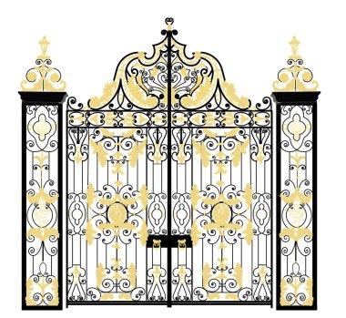 Kensington palace gate, London, United Kingdom