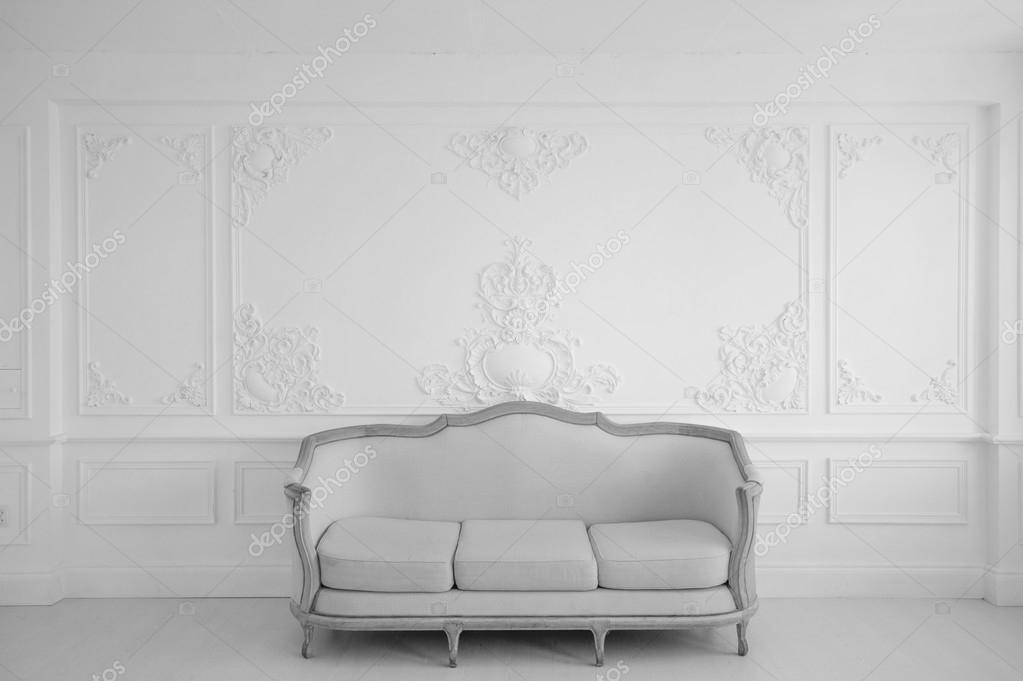 Phenomenal Living Room With Antique Stylish Light Sofa On Luxury White Bralicious Painted Fabric Chair Ideas Braliciousco