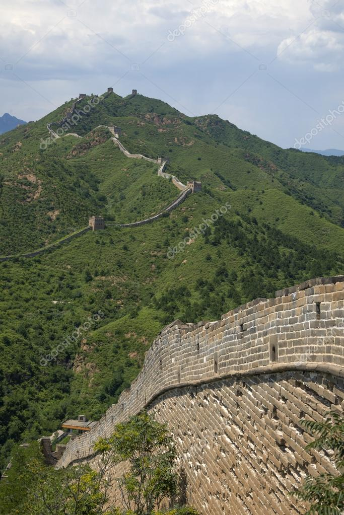 Beijing Great Wall In China The Majestic Great Wall A Symbol Of