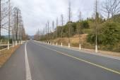 backgroun di autostrada di montagna