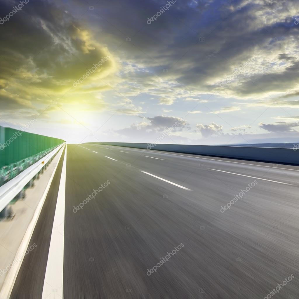 speed highway road