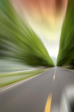 Highway speed cornering