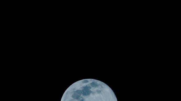 Úplněk, Moonlight, modrá, Shine, tma, noc, časová prodleva