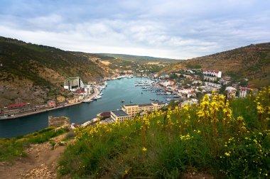 Balaklava city in Crimea