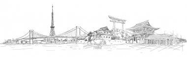 TOKYO city sketch