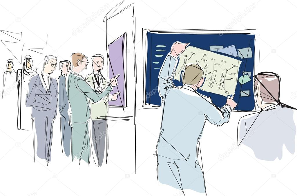 Exhibition Stand Sketch : Exhibition stand design ideas to draw more people eventbrite uk