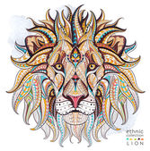 Tappeto a motivi testa del leone