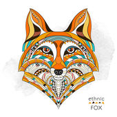 Photo Patterned head of the fox