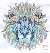 Etnikai fej oroszlán, szimbólum