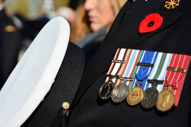 Remembrance Day,November 11th 2014,Victoria BC,Canada.Victoria as every city in North America honors our war hero's and fallen soldiers for their sacrifice for freedom for us all.We say thank you,Lest We Forget.