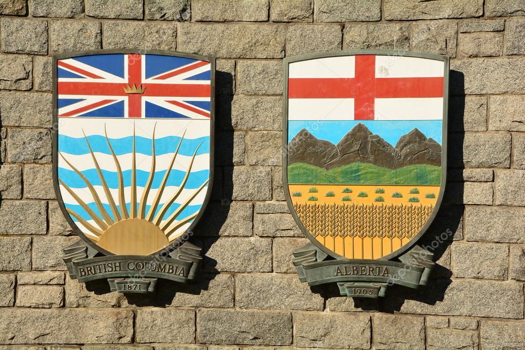Canadian Provincial coats of arms  — Stock Photo © bornin54