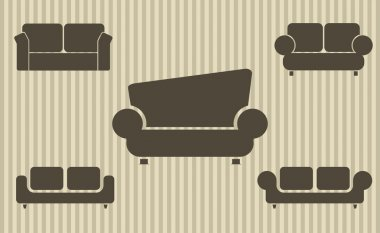 Set of sofas