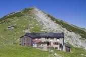 Fotografie Weilheimer Hütte in Ester Bergen