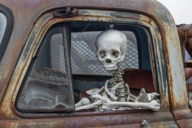 The death travels with the car