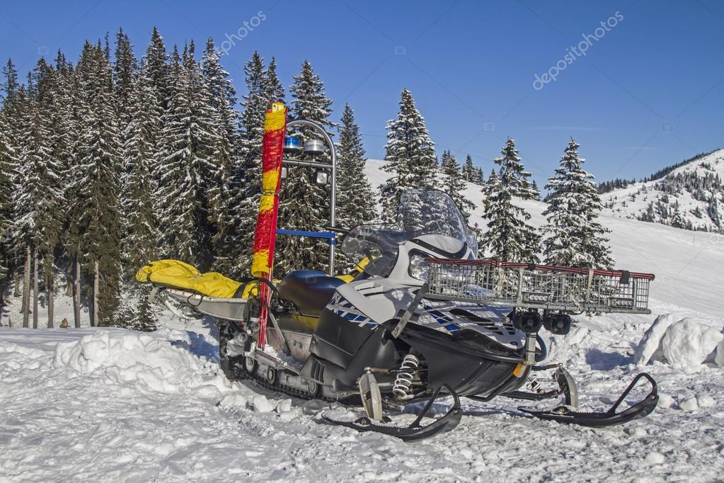 Mobile Mountain Rescue Vehicle