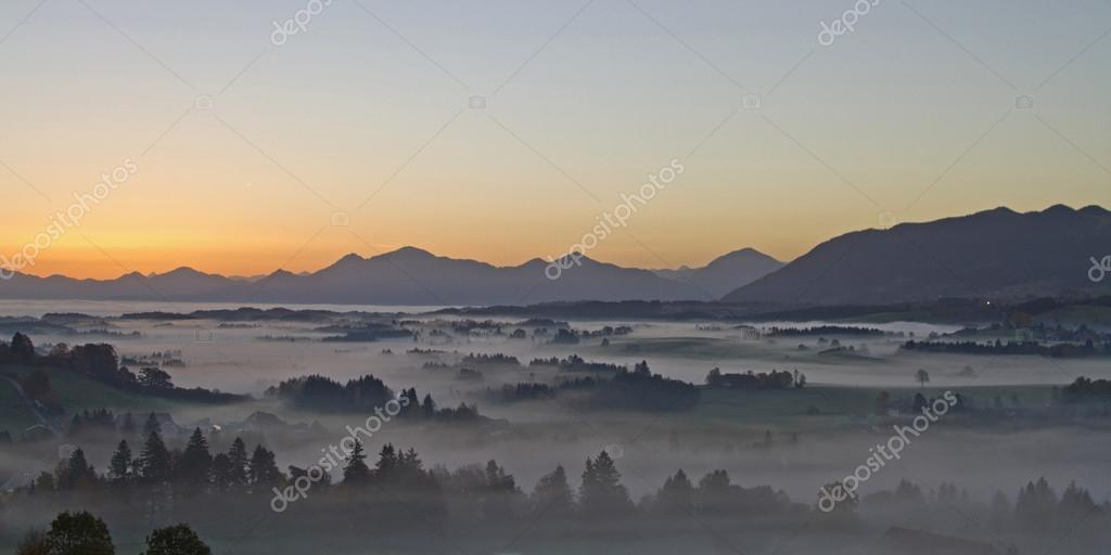 Early morning in Pfaffenwinkel