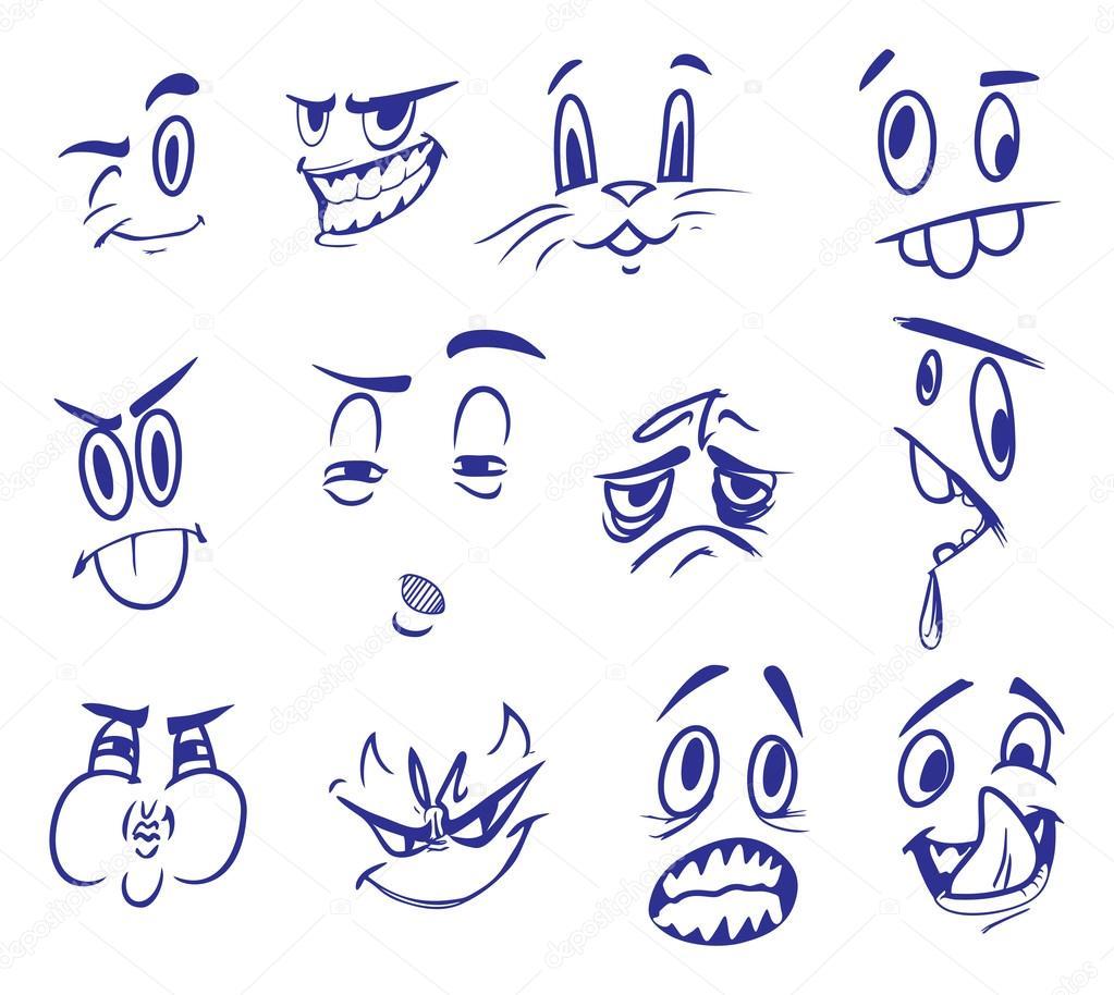 顔の表情のベクトル イラスト ストックベクター Cobisimo 87788936
