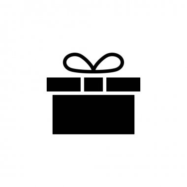 Gift icon vector. gift vector icon. birthday gift icon