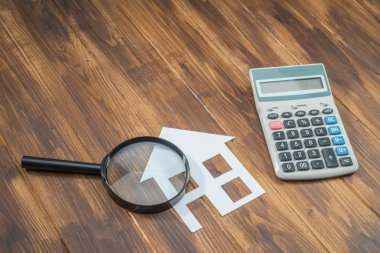 buy house Mortgage calculations,  calculator with Magnifier
