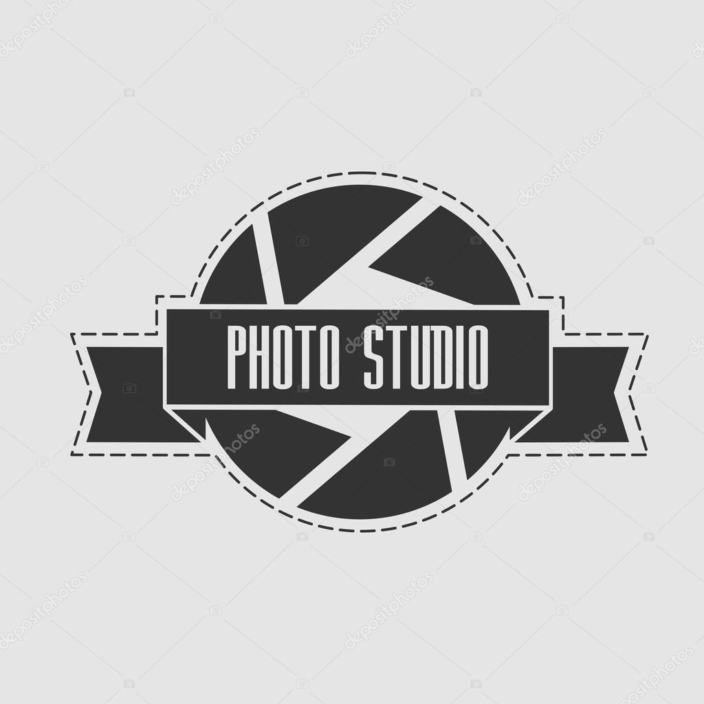 foto logo studio in stile vintage può essere utilizzato per studio