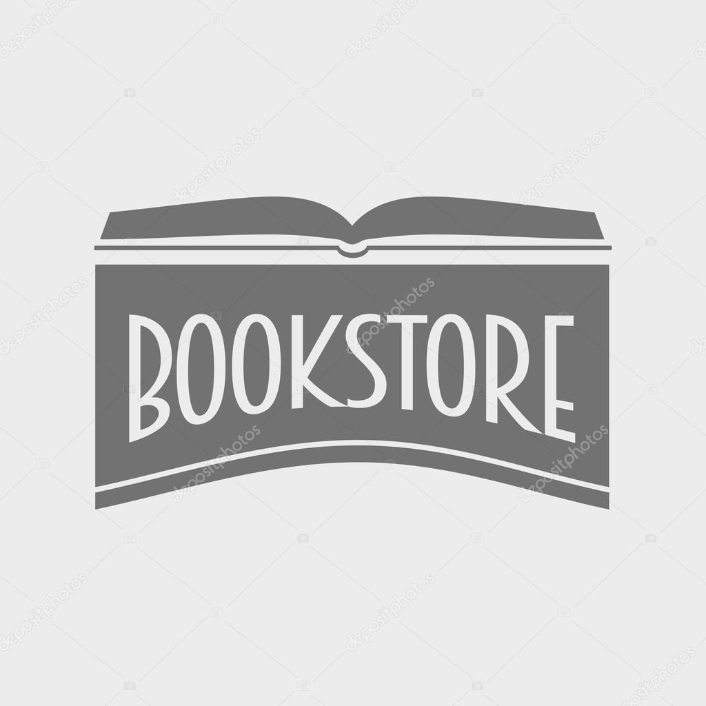 Livraria ou biblioteca conceito de logotipo de vetor for Logotipos de bibliotecas