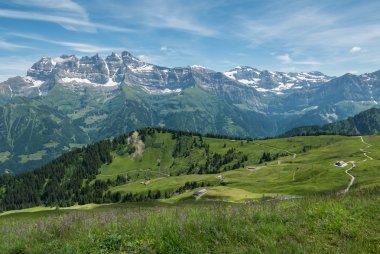 Swiss summer alps, Champery