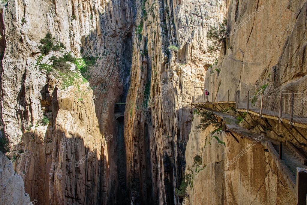 Klettersteig Caminito Del Rey : Caminito del rey klettersteig u2014 stockfoto © mbroms #92030824