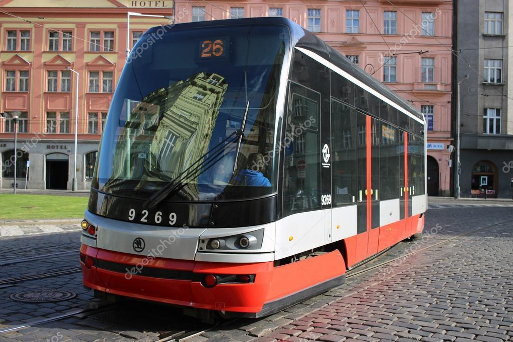 трамвай skoda forcity