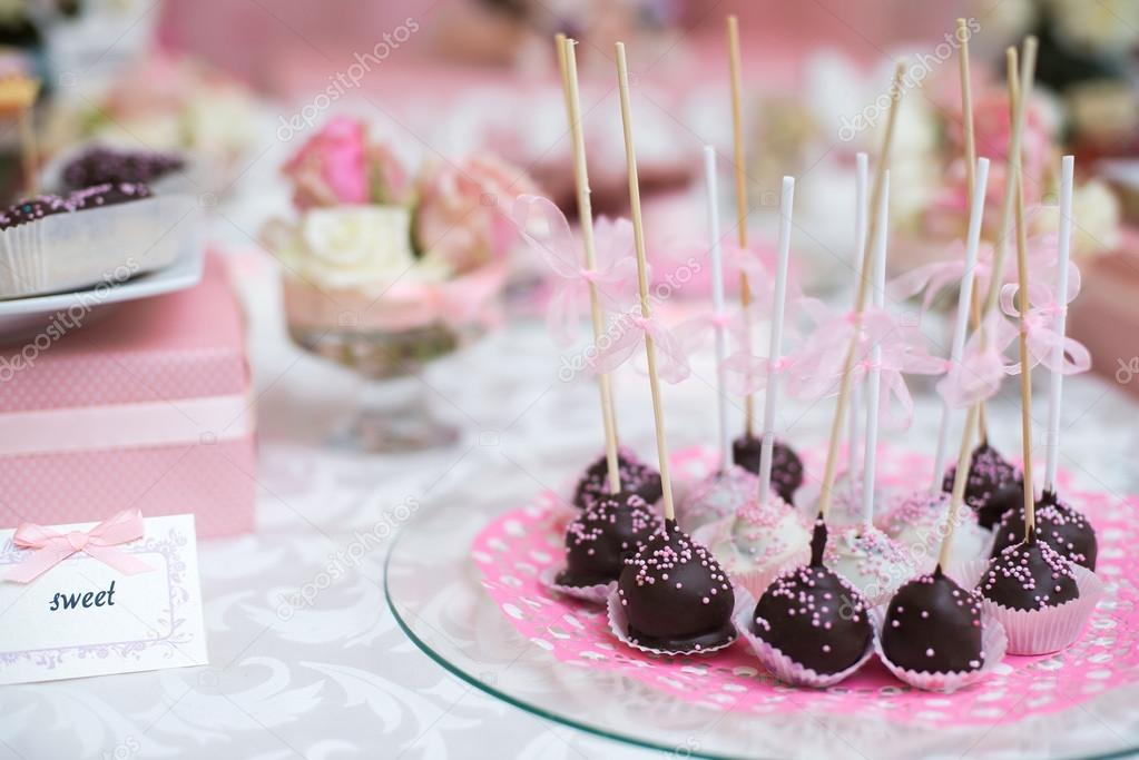 Peachy Colorful Wedding Candy Table With All The Chocolate Goodies Download Free Architecture Designs Embacsunscenecom