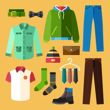 Clothing Icons Set