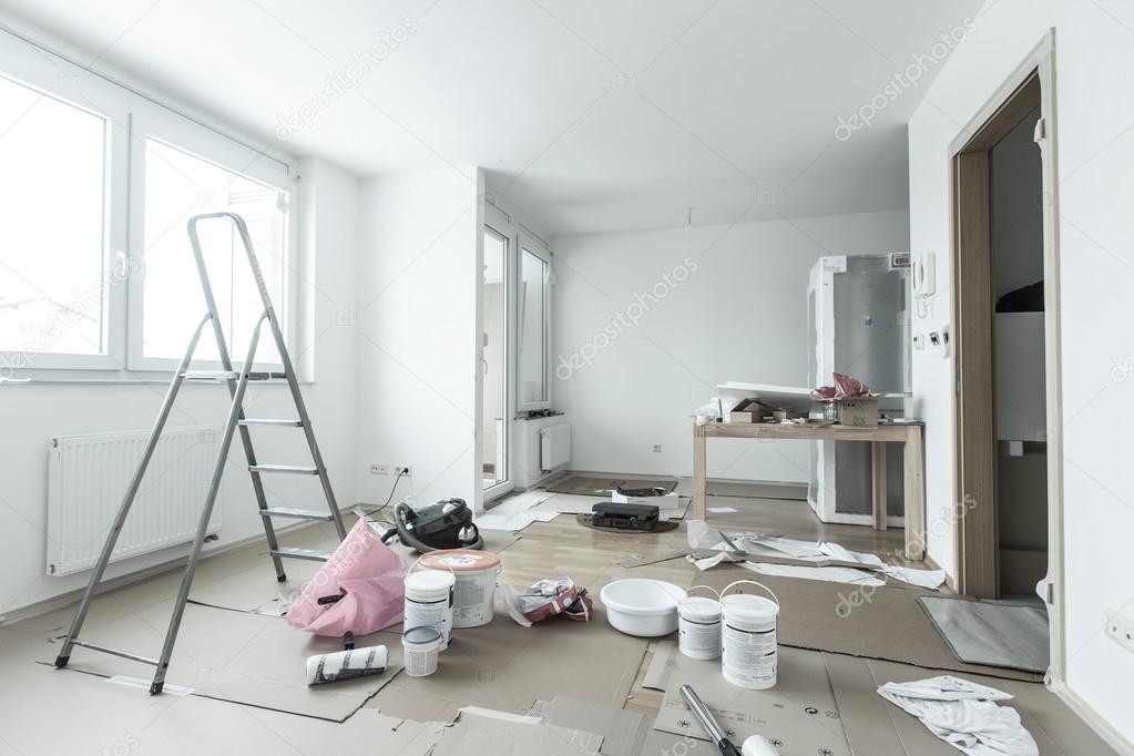 Прибирання після ремонту