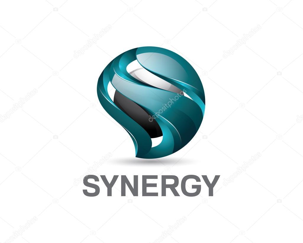 3d Buchstaben S Logo Design Bunte 3d Buchstaben S Logo Vektor