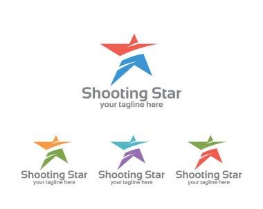 Abstract star business identity logo template. Star vector logo design branding corporate identity. Simple modern star vector .