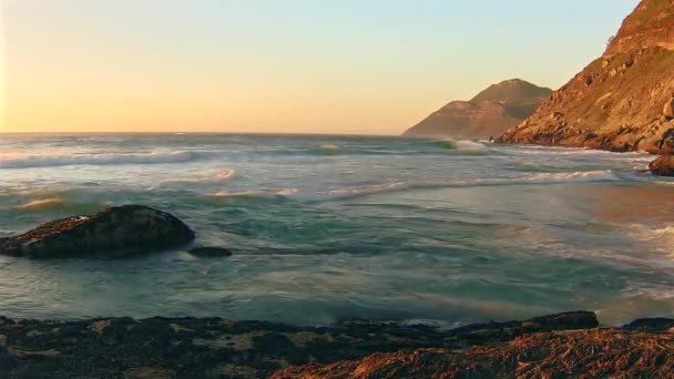 African Ocean waves