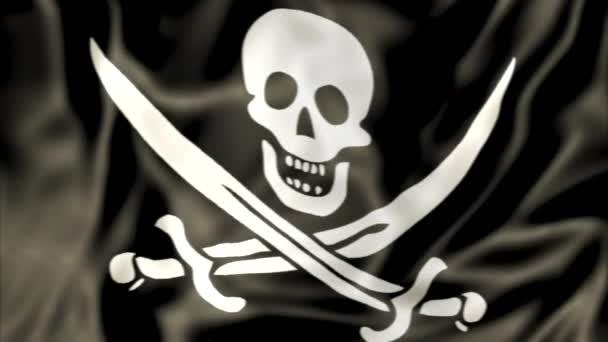 Ondeggiamento della bandierina di pirata