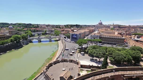 Letecký pohled na Řím