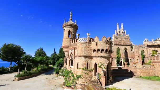 Castle of Colomares in Spain