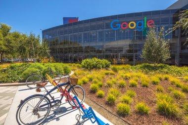Googleplex bicycle Mountain View