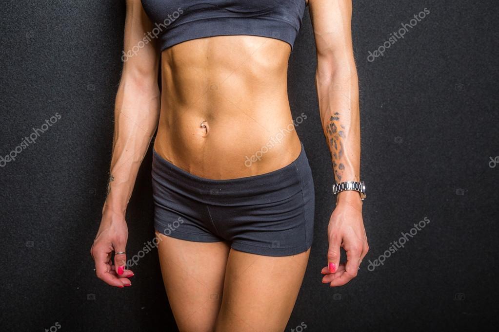 músculos abdominales — Foto de stock © bennymarty #78656220