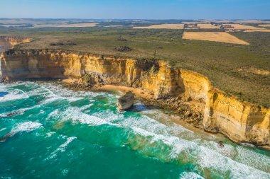 Aerial view Victorias Coast
