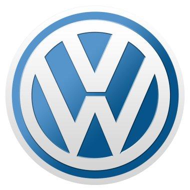 Volkswagen logo isolated